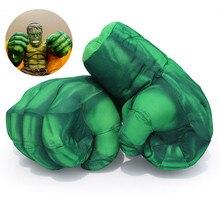 Adultes et enfants Super héros Hulk gants et costume musculaire araignée peluche hommes gants Cosplay course accessoires jouets enfant cadeaux