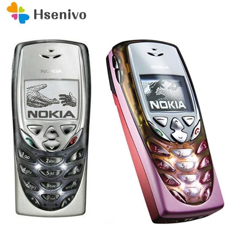 Nokia 8310 Refurbished-Original Nokia 8310 Unlocked Mobile Phone 2G Dualband GSM 900/1800 GPRS Class