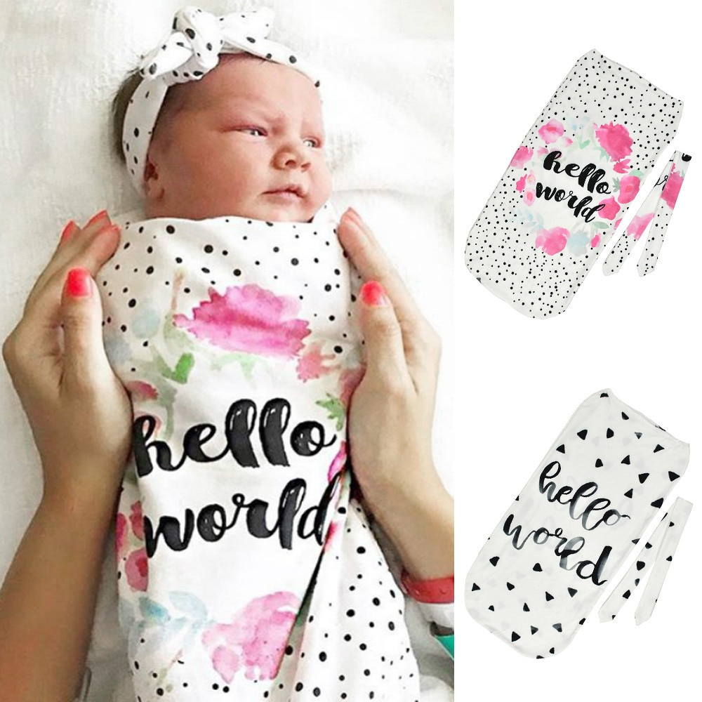 Recién Nacido Swaddle bebé saco de dormir frazada manta imprimir bolsa de dormir de los niños dormir saco de paseo abrigo de pelo bebes 2020 Gigoteuse