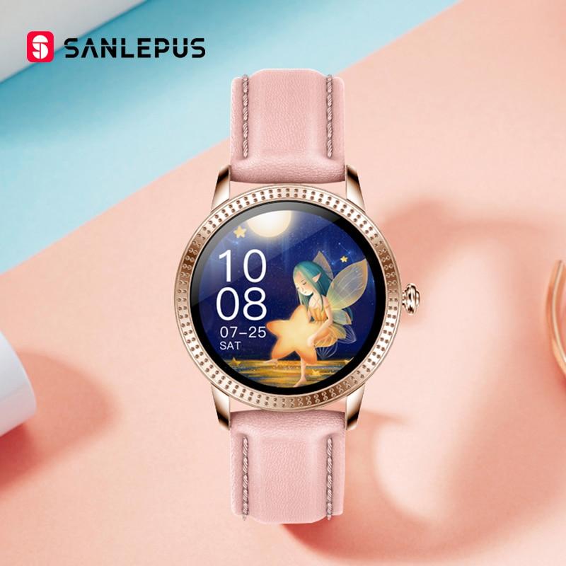 2021 NEW SANLEPUS Fashion Smart Watch Couple Watches Men  Women's Smartwatch Sports Fitness Bracelet