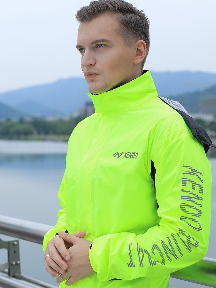Black Waterproof Raincoat Hoodie High Quality Hiking Running Raincoat for Men Motorcycle Impermeables Household Items EI50RC enlarge