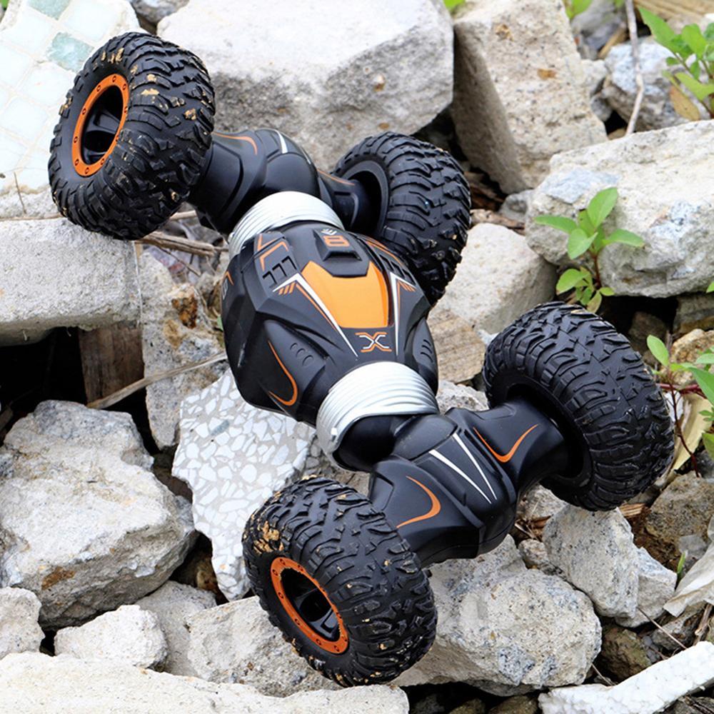 2020 actualizado coche de alta velocidad RC Radio Control Twist-desierto Stunt SUV coches fuera de la carretera de carreras de escalada Buggy juguetes para niños regalos