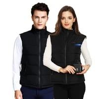 outdoor electric heating vest usb heating vest outdoor winter heat preservation jacket for men and women