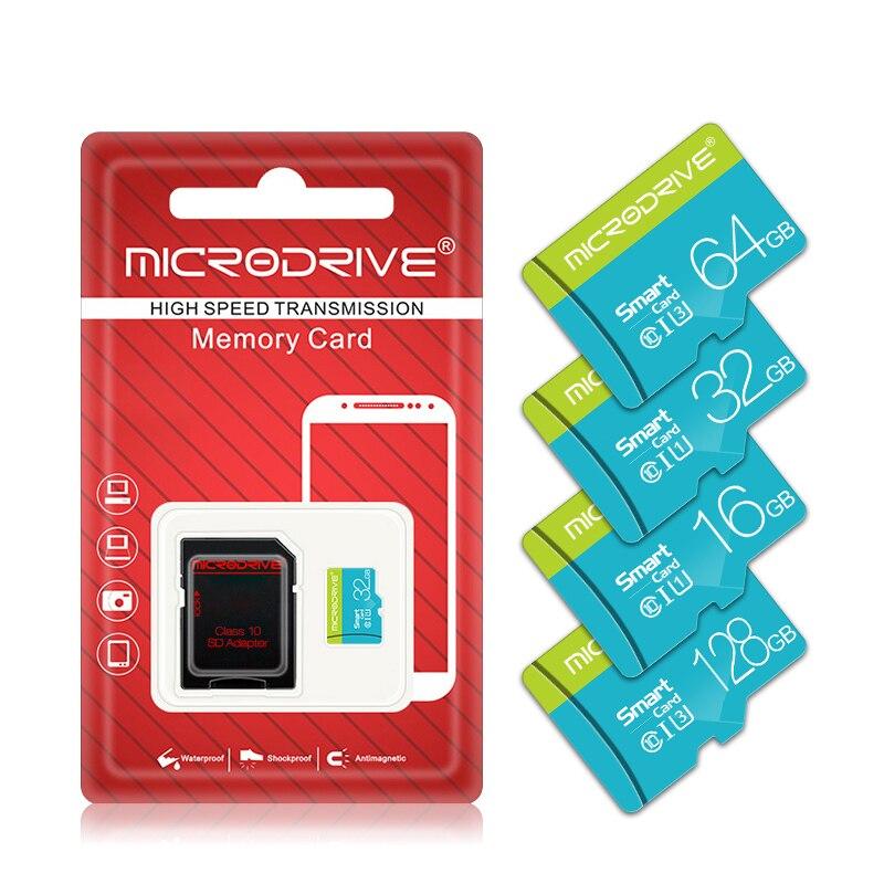 Memory Card 32GB 16GB 8GB 128GB 64GB USB Card Class 10 TF SD Card 8 16 32 64 128 GB Cartao De Memoria Carte with Adapter