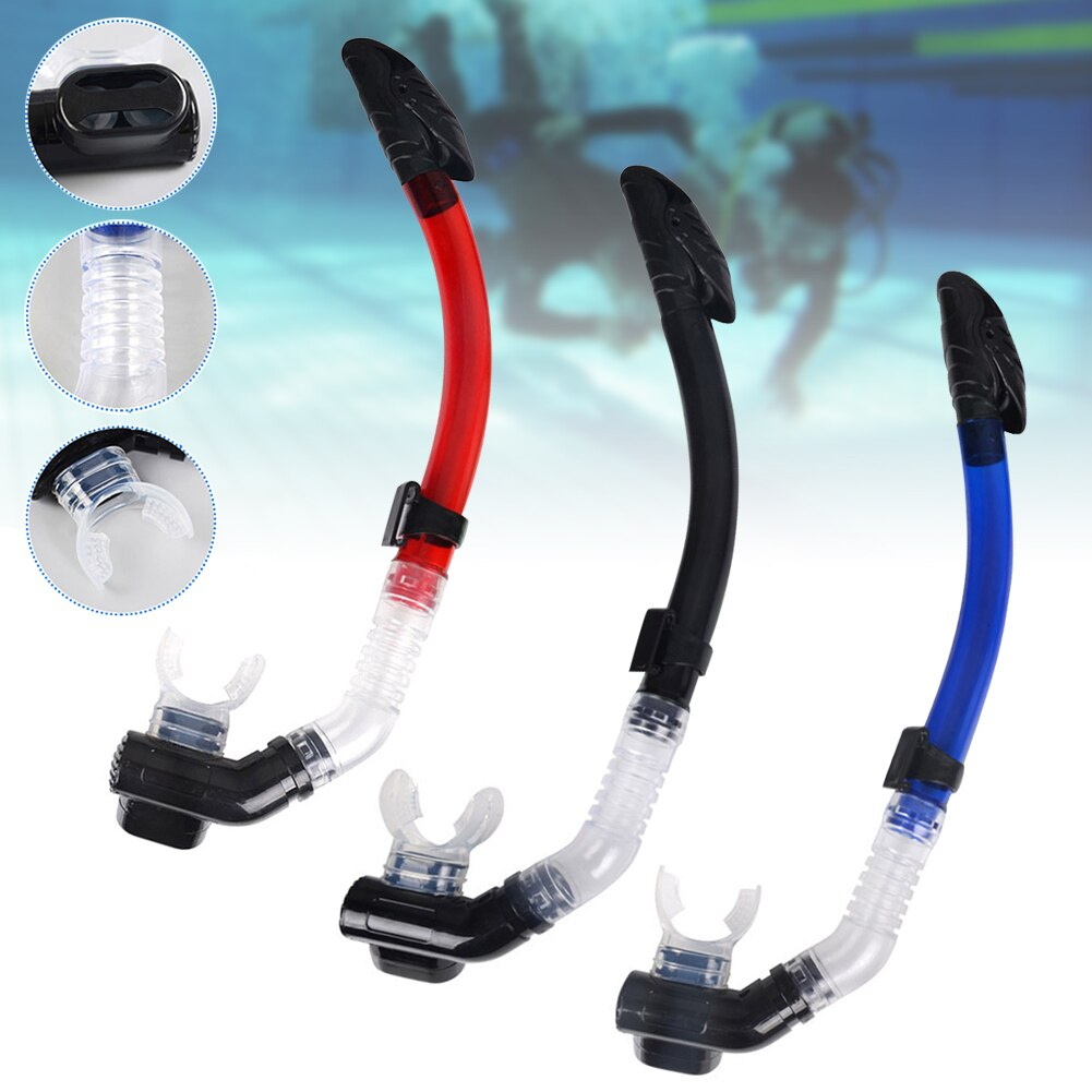 Dry Snorkel Dive Mask Diving Snorkel for Scuba Diving Swimming Food-Grade Silicone Mouthpiece deepgear nearsighted diving mask for adult clear pc myopia lens scuba mask short sighted divers scuba mask top snorkel gears
