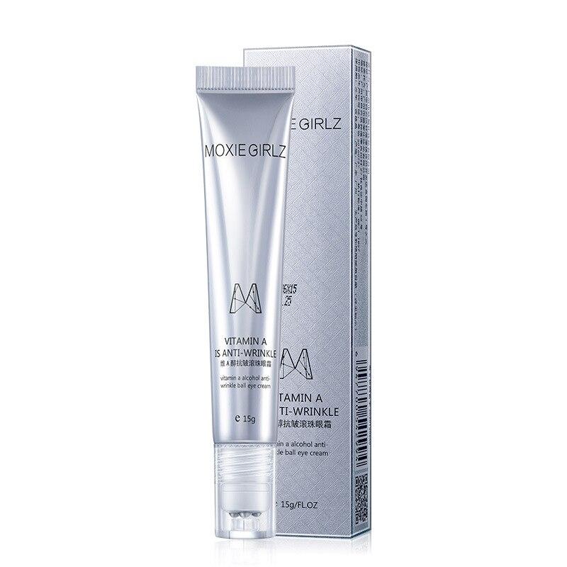 Eye Cream Vitamin A Massage Eye Roller Cream Remover Eye Dark Circle Anti-wrinkle Moisturizing Skin Care Eye Massager TSLM2 недорого