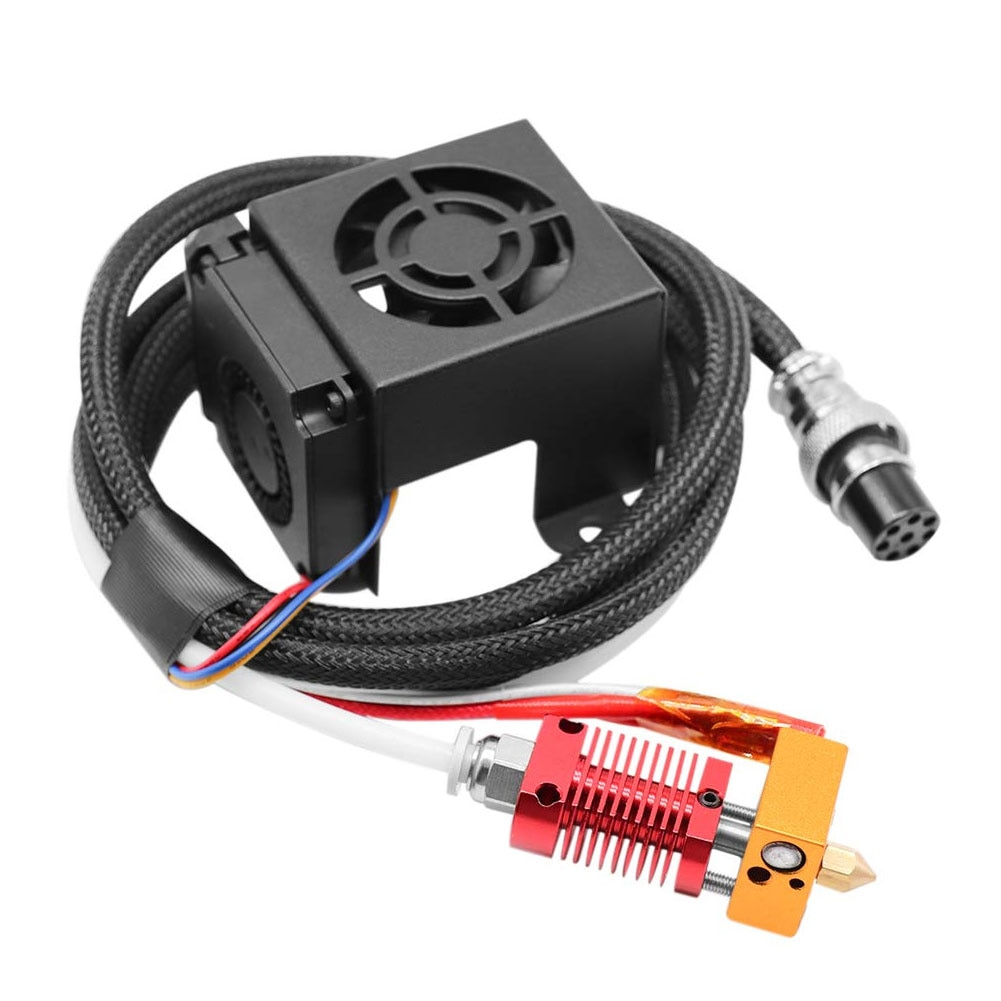 2021 2021 NewNew MK8 Extruder 3D Printer Extruders Kit Assembly Fully Equipped with Hotend for 3D Printer 12V 3D Printer Parts enlarge