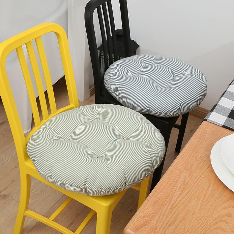 Cojines tipo futón de lino de estilo japonés, tela grande Circular gruesa, suelo de meditación, balcón, ventana, Tatami, cojín, cojín