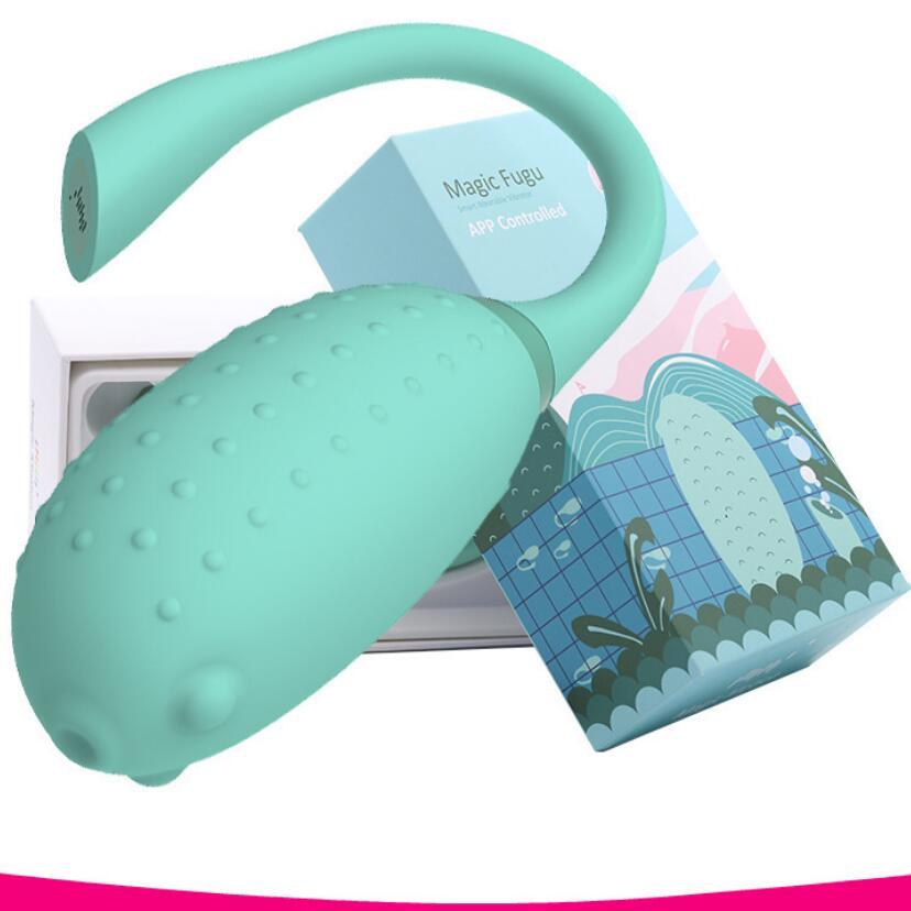 Wireless APP Control Vibrating Egg Vibrator Wearable Panties Vibrators Stimulator Vaginal Kegel Ball Sex Toy For Women S0434