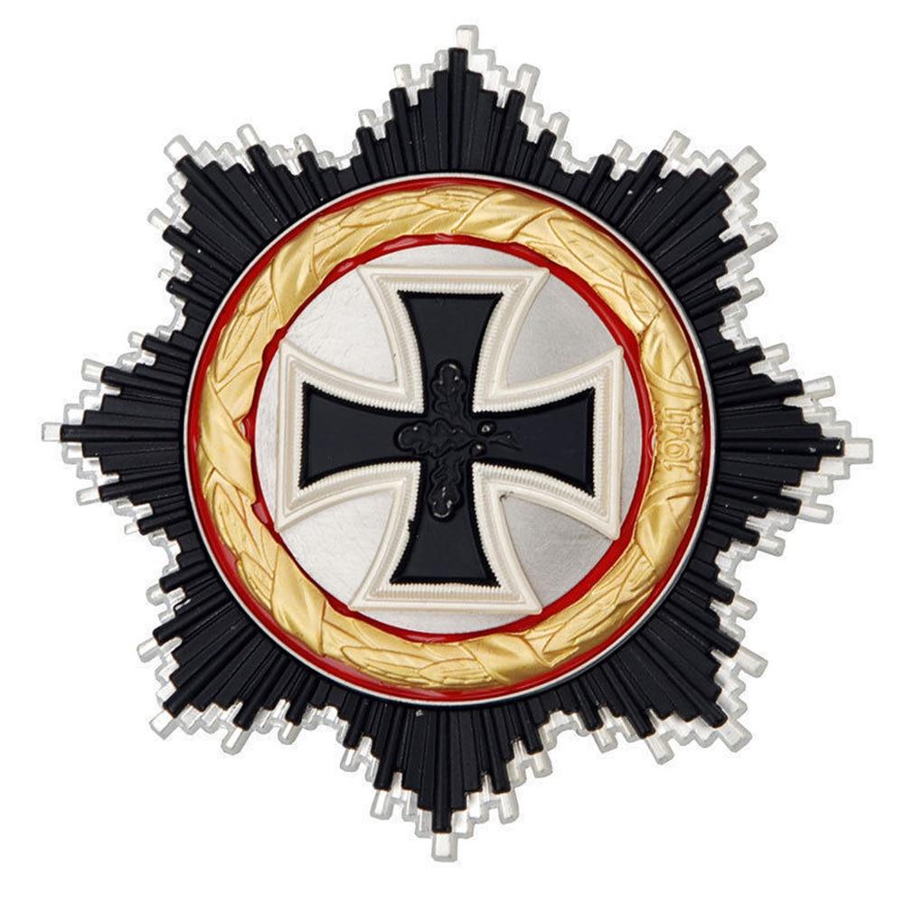 الحرب العالمية الثانية الحرب العالمية الثانية ضابط ألماني الأدميرال نايت ، ميدالية الصليب الحديدي ، شارة الأمر