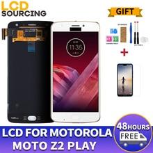 AMOLED écran LCD pour Motorola Moto Z2 Play XT1710-01/07/08/10 1920*1080 écran tactile numériseur assemblée remplacement 5.5 pouces