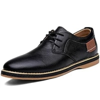 brand mens casual shoes genuine leather men business mens oxford shoes hot sale men fashion footwear loafers