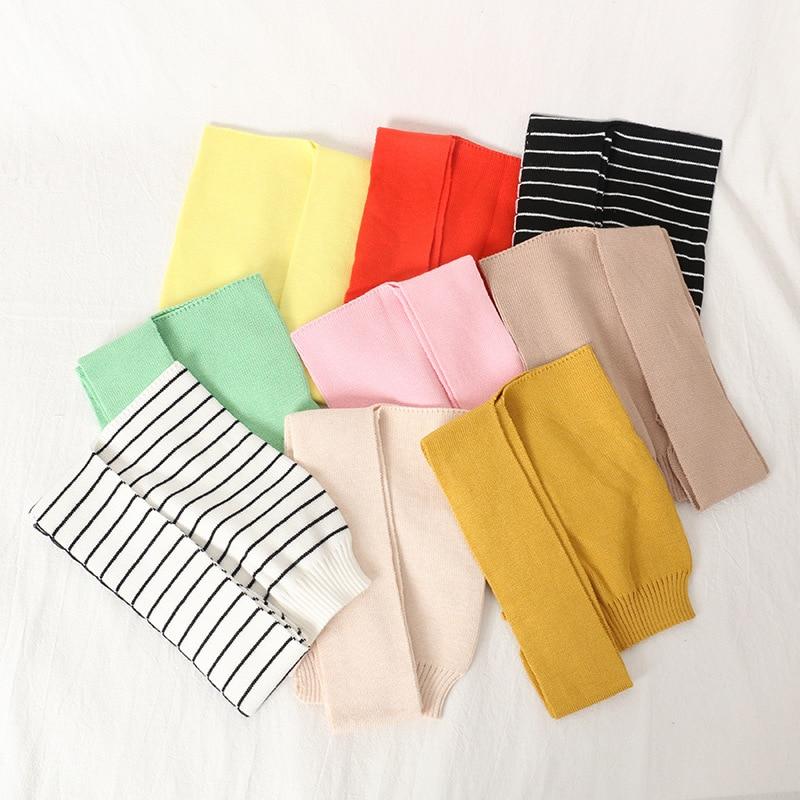 شالات من الصوف للأطفال ، أوشحة على الكتف ، عصرية ، ألوان حمضية