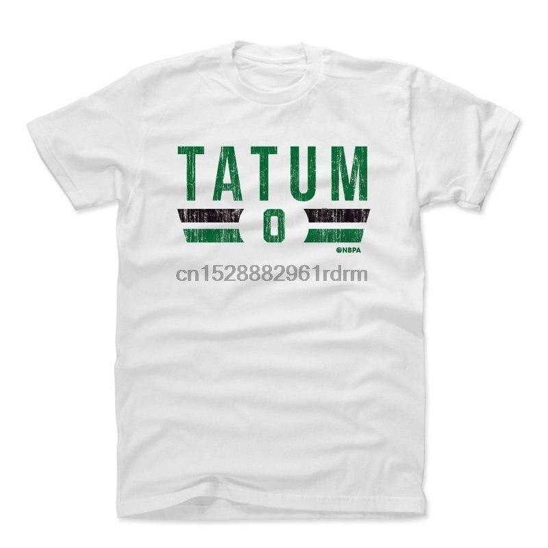 Clothing 500 LEVEL Jayson Tatum Shirt   Vintage Boston Basketball Mens Apparel   Jayson Tatum Boston Font 7395