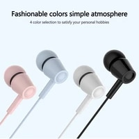 high quality hifi 3 5mm in ear earphone headphones stereo earphones sport noise reduction headset for iphone xiaomi multi color