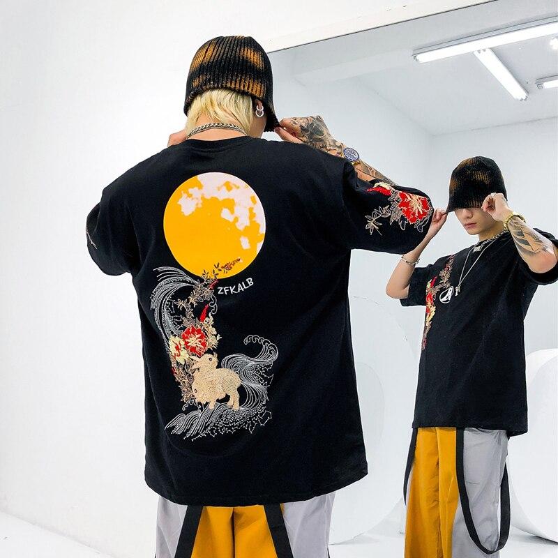 Camisetas de moda con estampado de dibujos animados iiDossan, ropa informal japonesa para hombre, camiseta Harajuku Hiphop 3D, camisetas casuales para mujer, camiseta de alta calidad