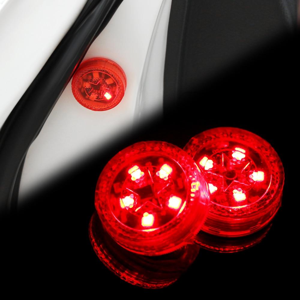 5 LED Car Door Anti-Collision Warning Light For BMW E46 E60 Ford focus 2 Kuga Mazda 3 cx-5 VW Polo Golf 4 5 6 Jetta Passat