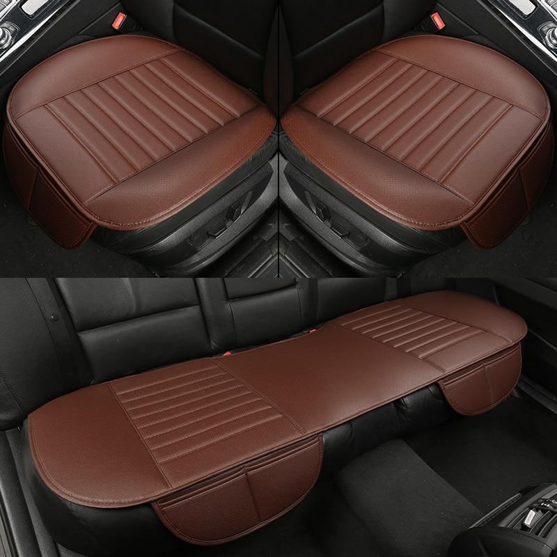 WLMWL Universal Leather Car seat cushion for Fiat all models 500L 500 2007-2014 punto Bravo Viaggio Freemoauto car styling
