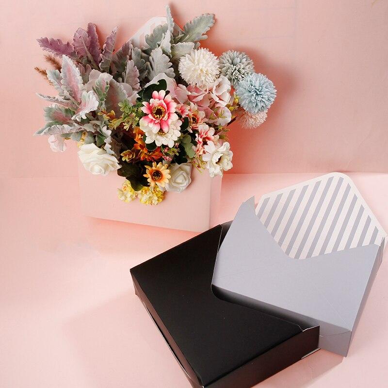 Hug окне цветок Роза Упаковка букета Подарочная коробка для конвертов держатель писем подарочная упаковка конверт для сортировки настольна...