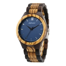 Mens Watch for Husband Dad Customizable Engrave Wooden Watches Gift for Couple Women Wedding Bridesm