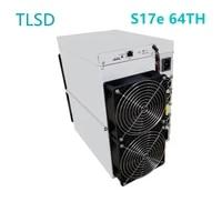 tlsd used bitmain antminer s17e 64ths 2880w power consumption btc bch bitcoin machine