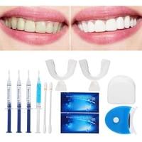 1set teeth anti allergic whitening gel electric led cold blue light teeth whitening kits dental teeth whitening kit oral care