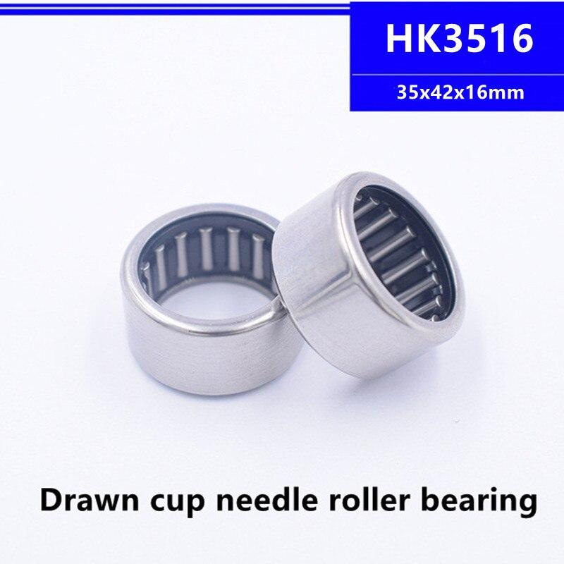 20 قطعة عالية الجودة HK3516 35x42x16 مللي متر تعادل كأس محبوس محمل ذو بكرات إبرية تحمل 35*42*16 مللي متر HK354216