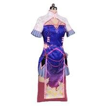 OW Cheongsam chinois, costume de cosplay DVA, femme et fille D. Uniforme de Cosplay robe VA dhalloween