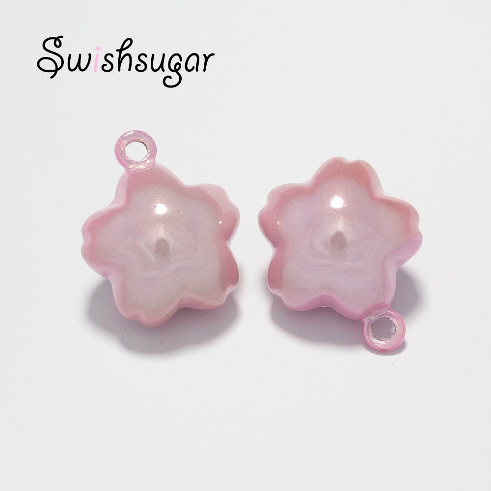 Japonês fechar sakura jingle bells boa sorte encantos colar pingente acessórios jóias artesanato descobertas