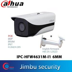 Dahua POE camera 6MP  IPC-HFW4631M-I1 H.265   IR50m IP67 security camera multi-language ONVIF
