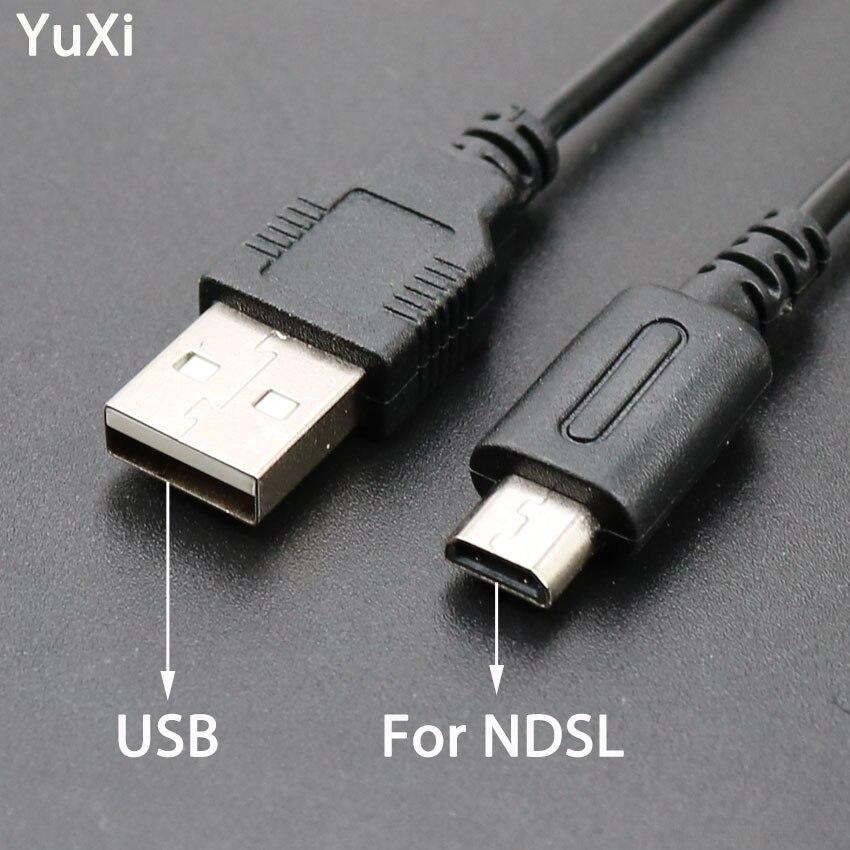 YuXi, 1 unidad, Cable de alimentación de cargador de Cable de datos USB, Cable de carga para Nintendo DS Lite DSL NDSL