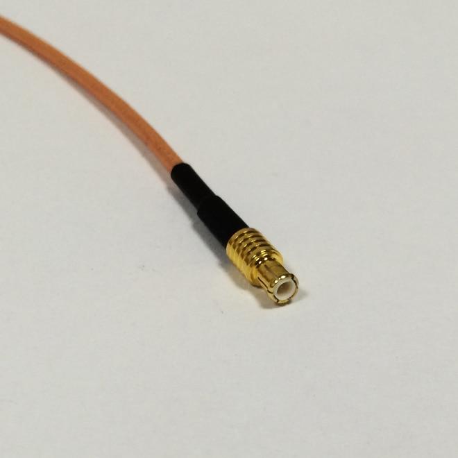 1 шт. Новый MCX прямой штекер разъем кабель RG316 25 см другой конец без разъема
