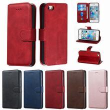 Coque pour iPhone 7 8 6 s 6 s Plus 5s SE housse Coque pour téléphone Coque pour iPhone 11 Pro MAX XR XS portefeuille à rabat en cuir antichoc Funda