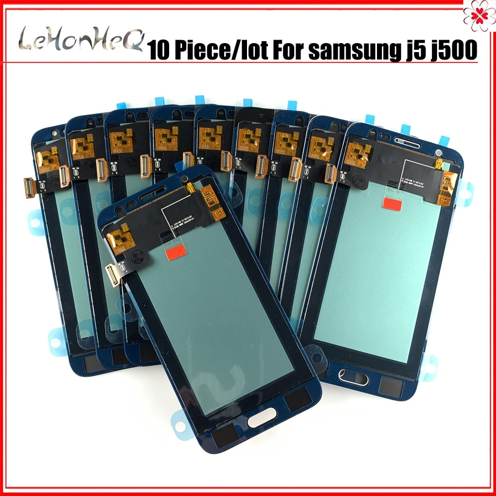 10 peças/lote incell lcd para samsung galaxy j5 2015 j500 j500f j500g display lcd tela de toque digitador assembléia para samsung j500