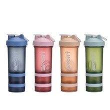 500ml Nutrition Water Bottle 24Fit Milk Shake Bottle Straw Bottle Sports Bottle Plastic Space Bottle