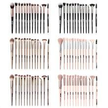 MAANGE 13pcs Professional Makeup Brushes Set Eye Shadow Foundation Powder Eyeliner Lip Make Up Brush
