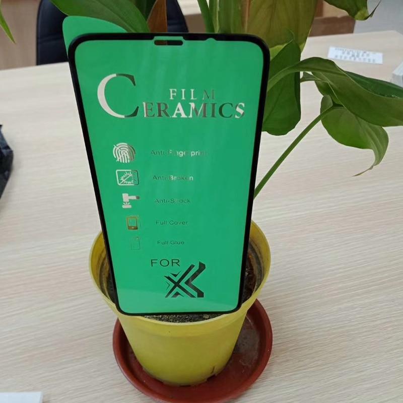 Panbon 9H fibra de vidrio para Huawei Nova 5 Pro 5i 5T película de vidrio de cerámica suave en Huawei Nova 4 3 3i 3E 4E 2i Protector de pantalla