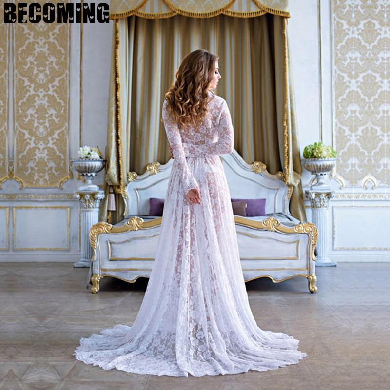 Maternity Dress for photo shoot Dress Plus Size Pregnancy Clothes Lace Maternity Dress for Shooting Photo Summer Pregnant Dress enlarge