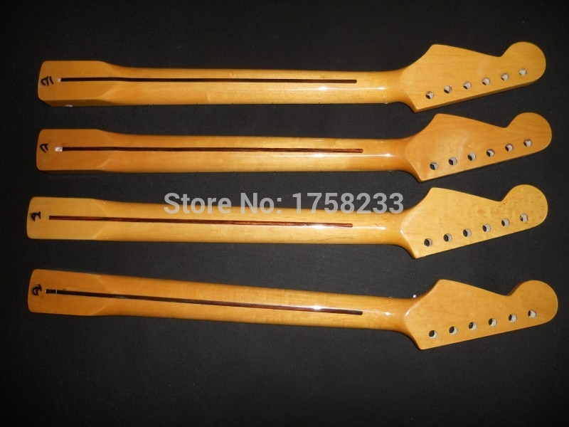 Top quality Unfinished electric guitar neck cross screw adjust the clavichord decoration+rosewood fingerboard 21 fret neck enlarge