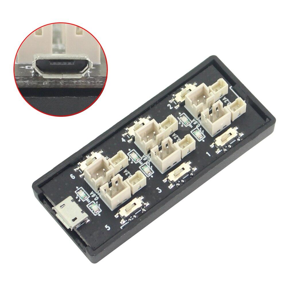 1S LiPo batería cargador placa de carga RC Accesorio con interfaz USB de alta calidad lipo cargador RC parte para helicóptero