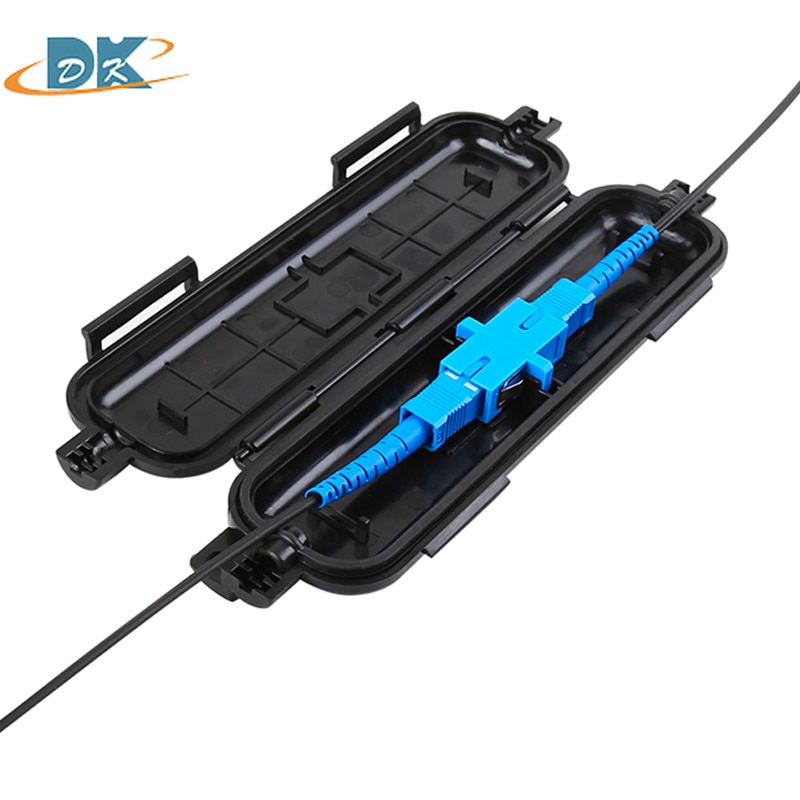 Caja de protección contra cables ftthOptical, Tubo termorretráctil para proteger bandeja de...