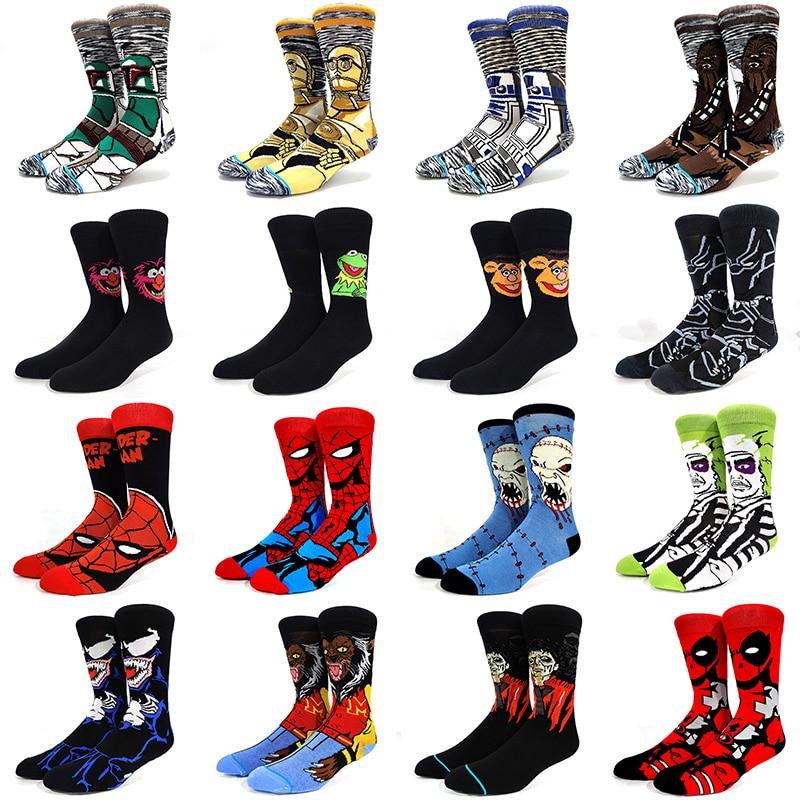 56-estilo-1-paquete-heroe-de-comic-marvel-general-calcetines-hombre-de-hierro-de-dibujos-animados-spiderman-capitan-america-hijo-de-los-hombres-calcetines-de-tobillo