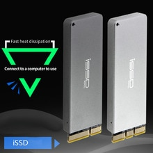 JEYI iSSD m.2 NVME aluminium PCIE3.0 GEN3 mobile SSD box optibay SSD case PCIE X1 Adapter m2 M.2 PCIE SSD U.2 PCI-E Into PCI-E