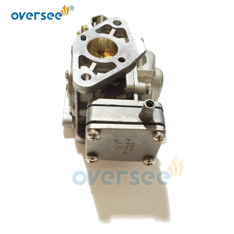 6H6-14301-01 Carburetor For Yamaha 6HP 6C 2-Stroke Outboard Engine Boat Motor Aftermarket Parts 6H6-14301 enlarge