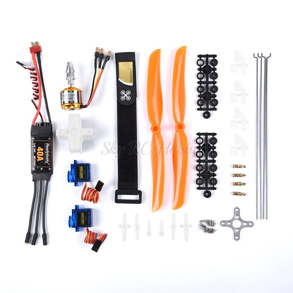 A2212 2212 1400KV bezszczotkowy silnik + 30A / 40A ESC + SG90 serwo 8060 śmigło + popychacz/serwo regulacja kąta dla RC Wing SU27