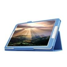 Coque pour Samsung Galaxy Tab E 9.6 T560 T561 SM-T560 Mince Pliant Flip Stand Étui En Cuir PU Tablette Funda + Film + Stylet
