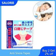 30/150Pcs Anti Snoring Mouth Tape Sleep Strip Better Nose Breathing Improved Nighttime Sleeping Less