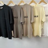 2020 nova camiseta manga curta 100% 1:1 nevoeiro essentials camiseta kanye west jerry lorenzo manga curta t