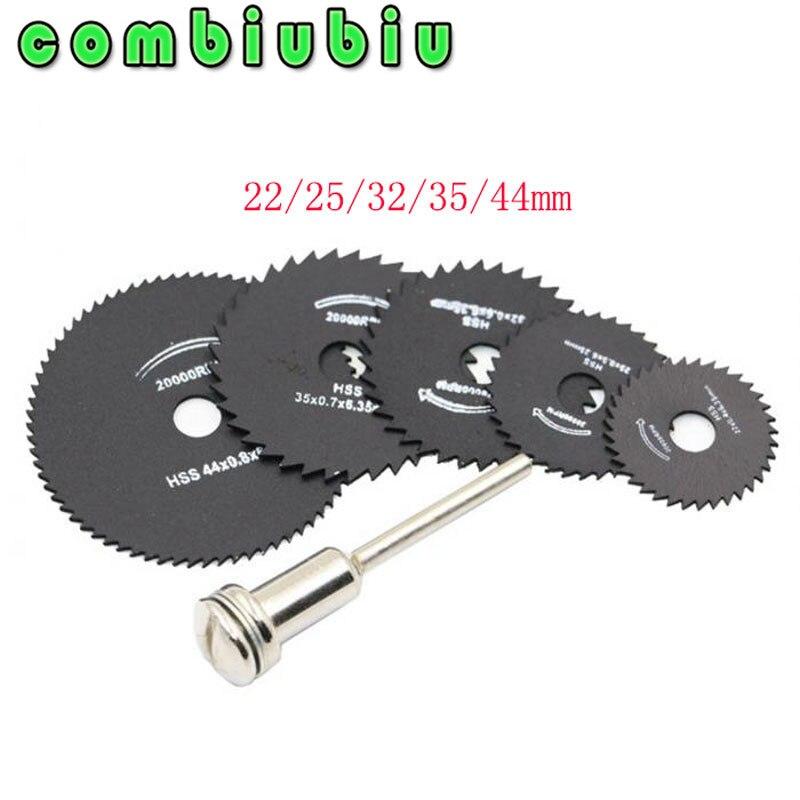Cuchillas de sierra HSS para herramienta rotativa Dremel de Metal, rueda de...