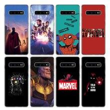 Avengers Endgame Thanos Marvel Phone Case For Samsung Galaxy S20 Ultra S10E Note 10 9 8 S9 S8 J4 J6 J8 Plus + Lite S7 S6 Cover C